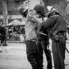 Police arrest protestor