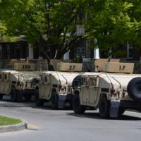 Baltimore Riot - Gwynns Falls Parkway - Mondawmin Mall - April 29, 2015      (2).JPG